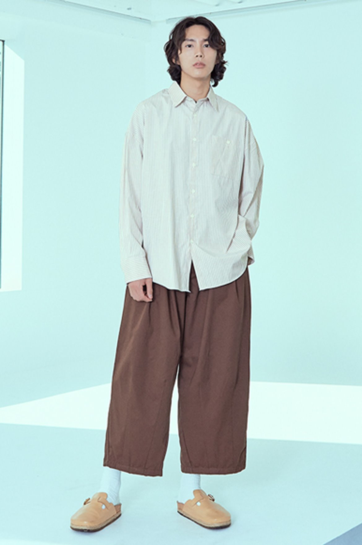 (7월 24일 예약배송) Tencel Balloon Pants [Brown]