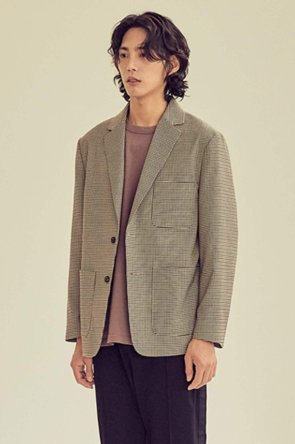 Two Button Check Jacket [Gun Club Check]