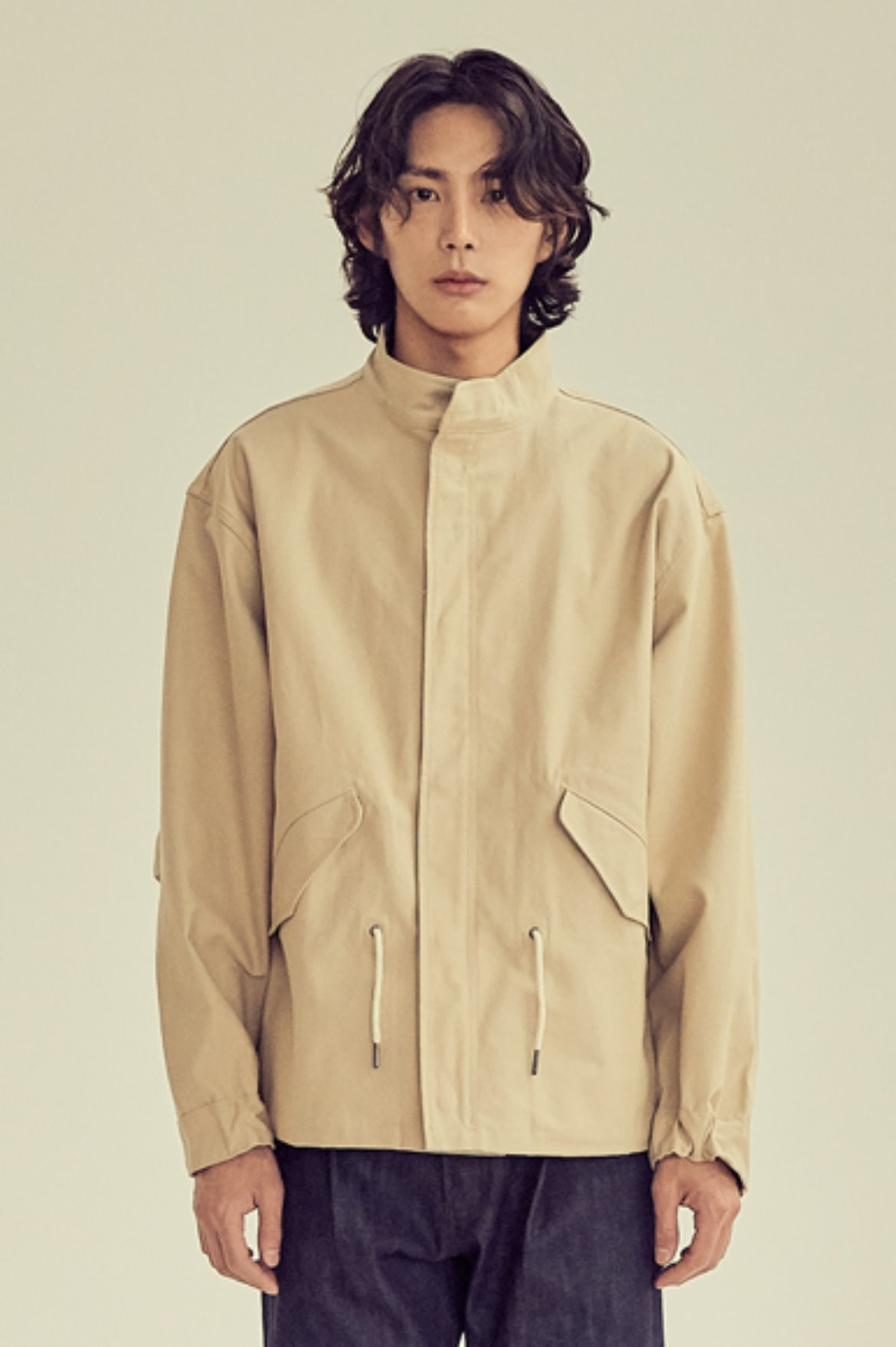 Light Crop M-65 Jacket [Beige]