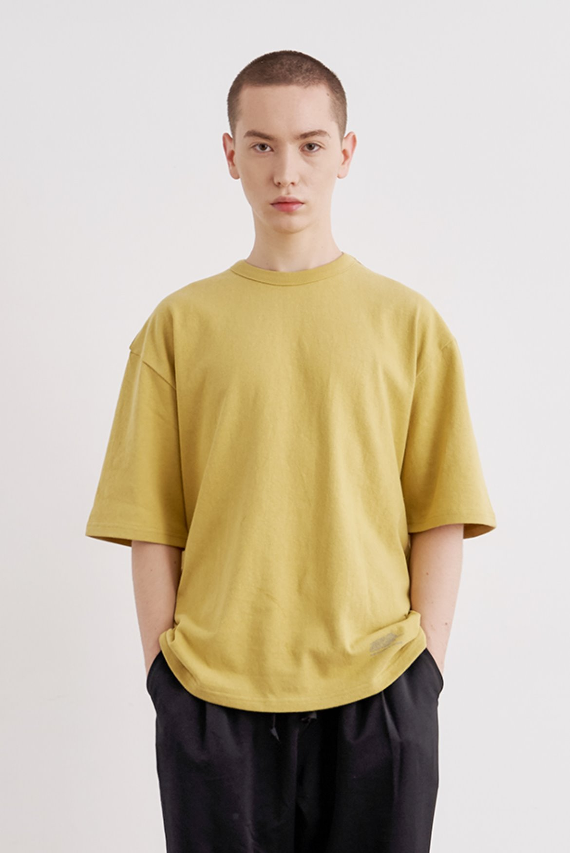 10s Baggy T-Shirts [Mustard]