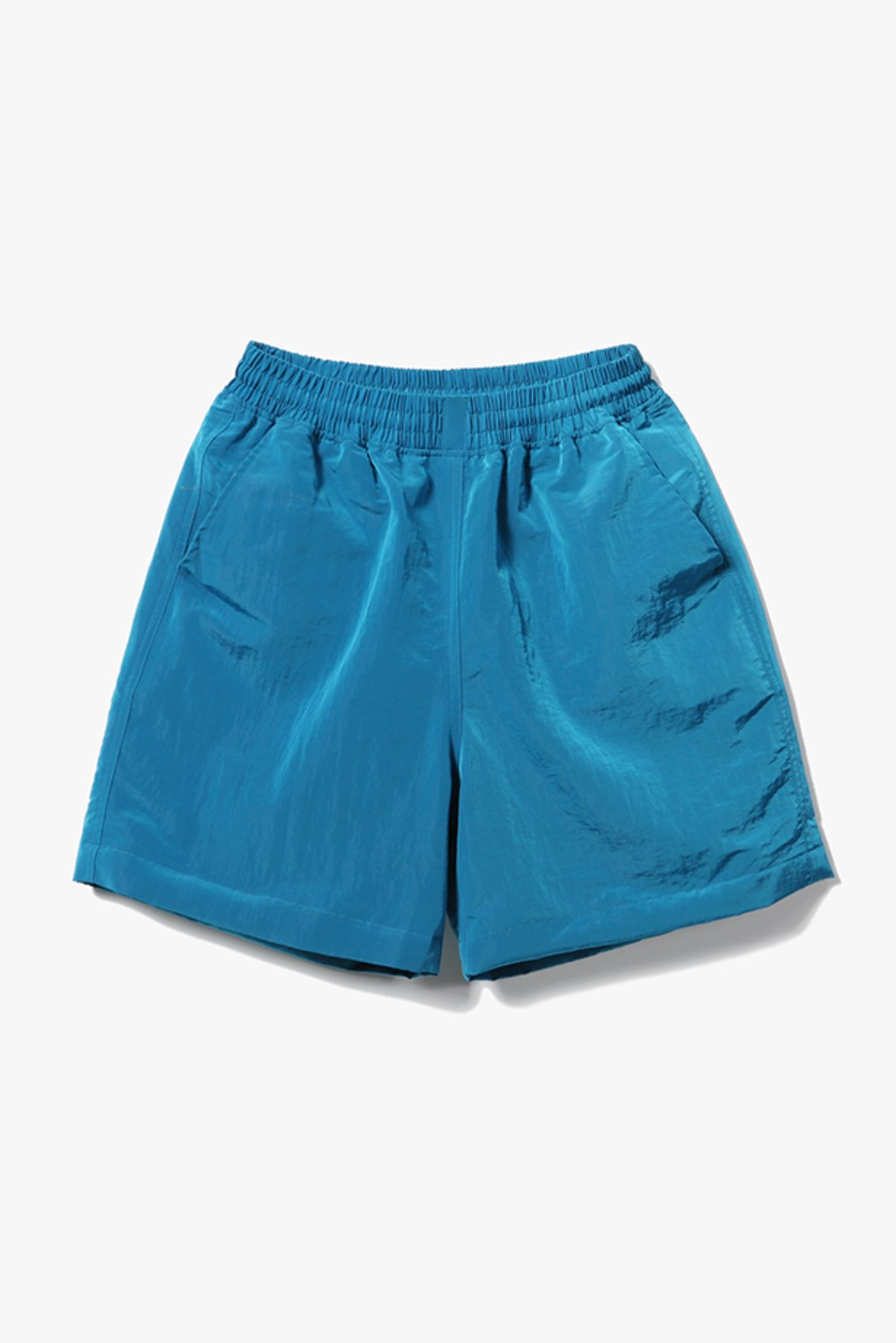 Metal Nylon Shorts [Teal Blue]