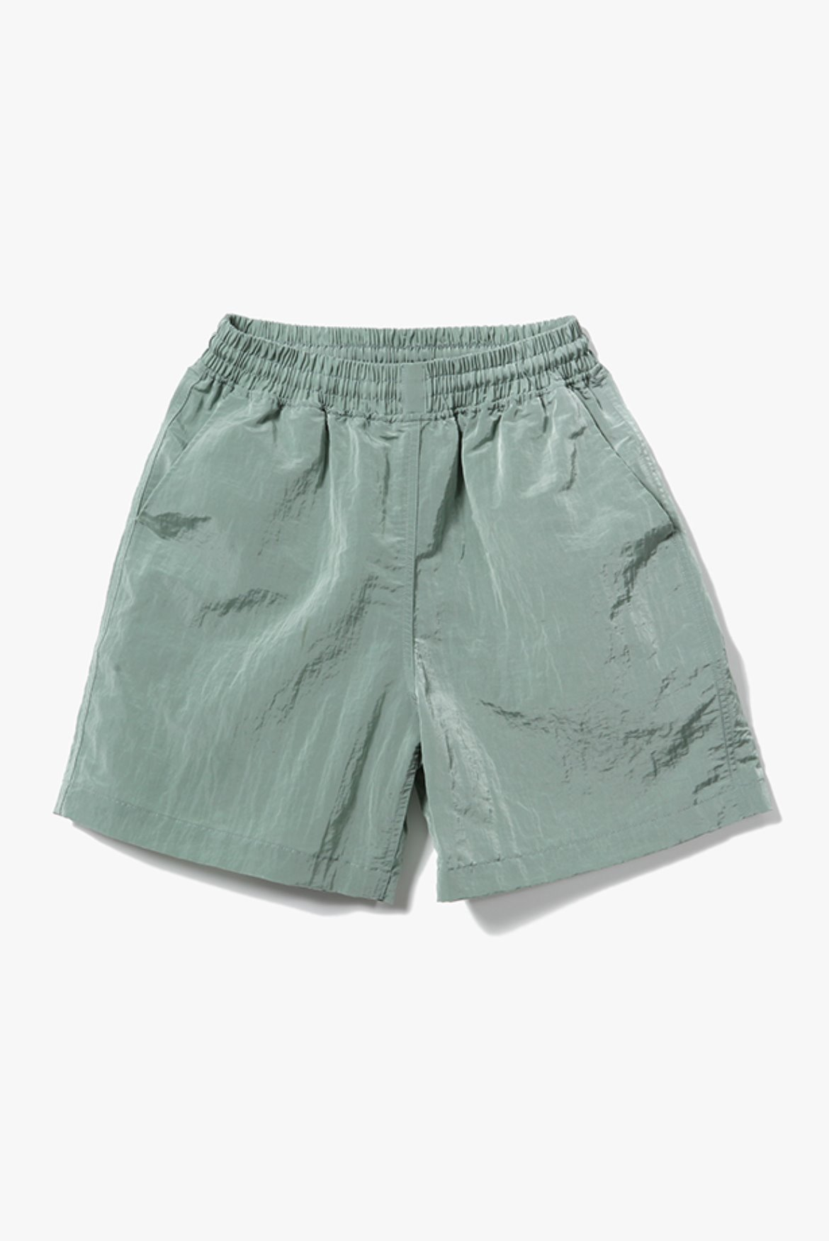 Metal Nylon Shorts [Mint]