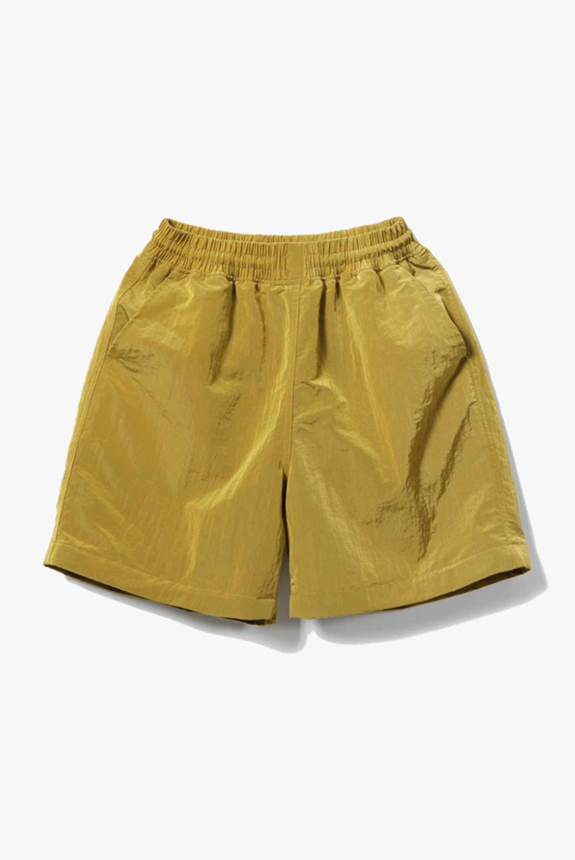 Metal Nylon Shorts [Olive]