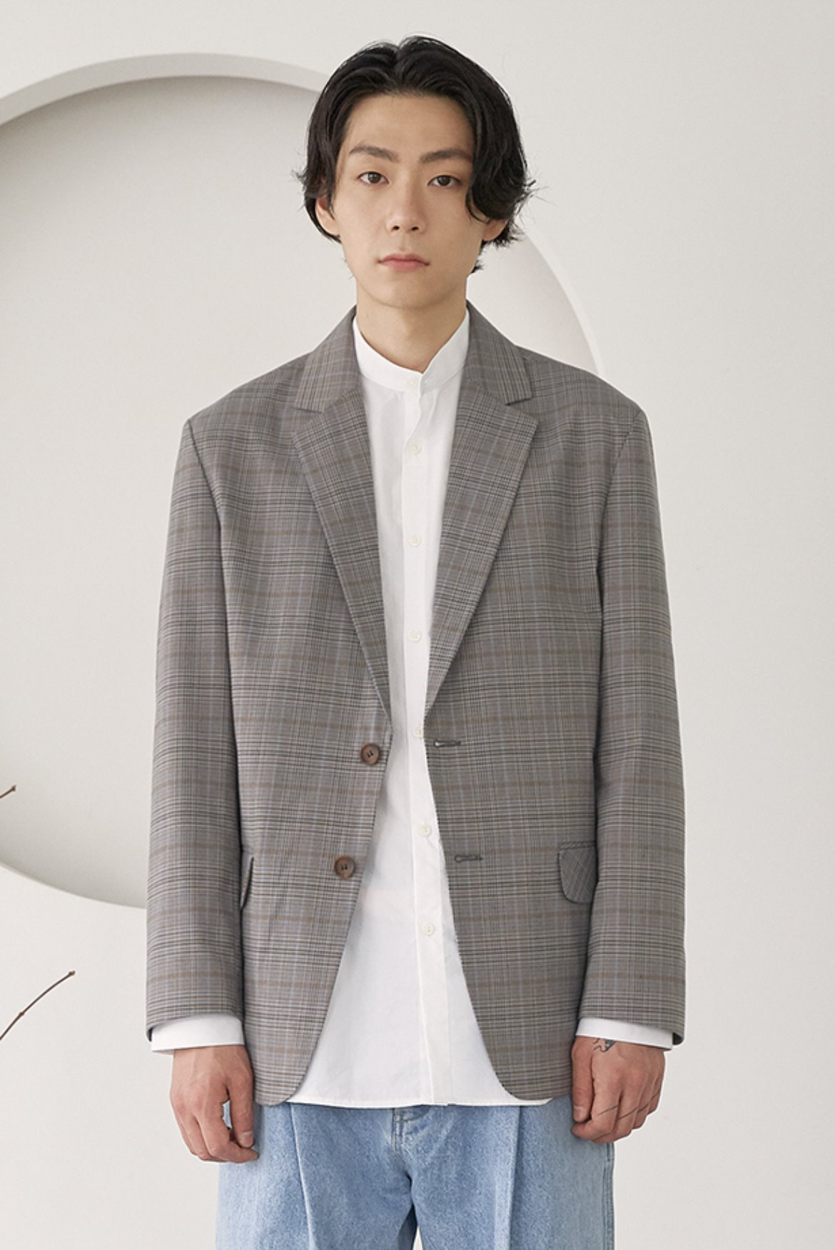 Formal Two Button Jacket [Deep Glen]